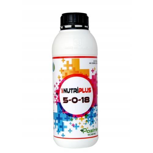 Pozitif NK 5-0-18 Potasyumlu Gübre 1Lt