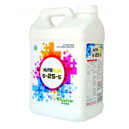 Nutriplus 5-25-5 Fosforlu  Sıvı Gübre 10 Lt.NPK