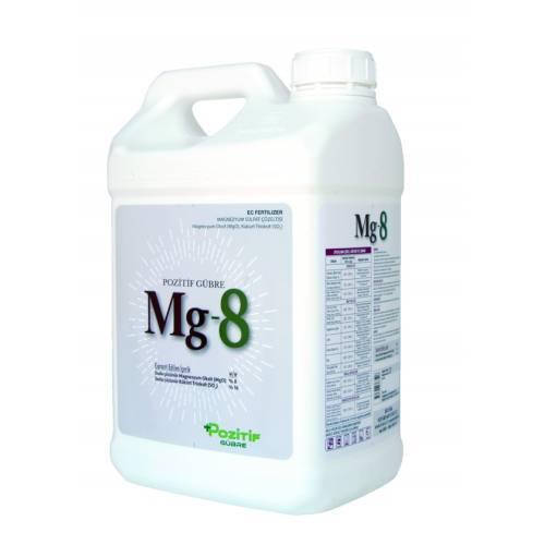 Mg-8 % 8 Magnezyum Sülfat İçerikli Sıvı Gübre 10 Lt.