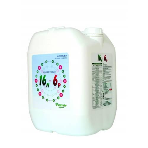 16 N - 6 P % 16 Amonyum Azotlu ve % 6 Fosforlu Sıvı Gübre 20 Lt.