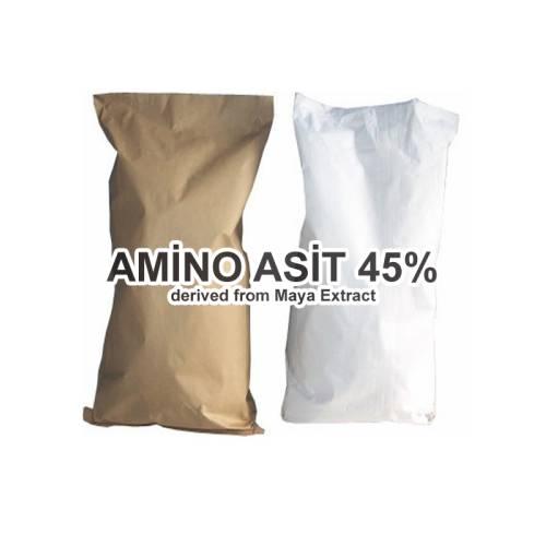 Toz Amino Asit 45% Gübre Maya Kökenli 1 KG