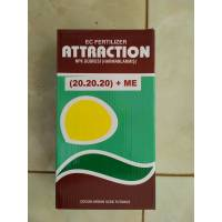 Attraction NPK Harmanlanmış Toz Gübre 1 KG