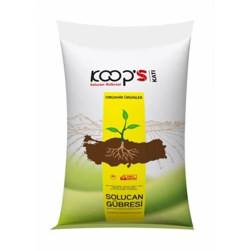 KoopS Organik Solucan Gübresi