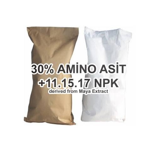 Amino Asit+NPK  %30  3.15.17 Gübre / 1KG